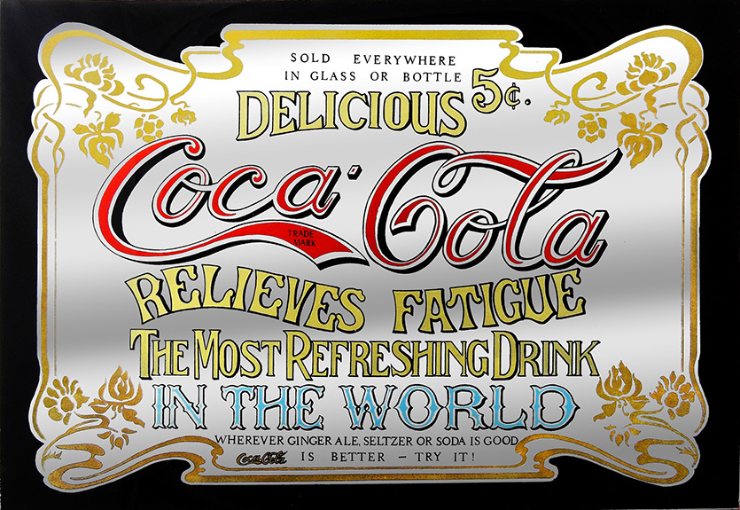 Coca Cola Vintage Label