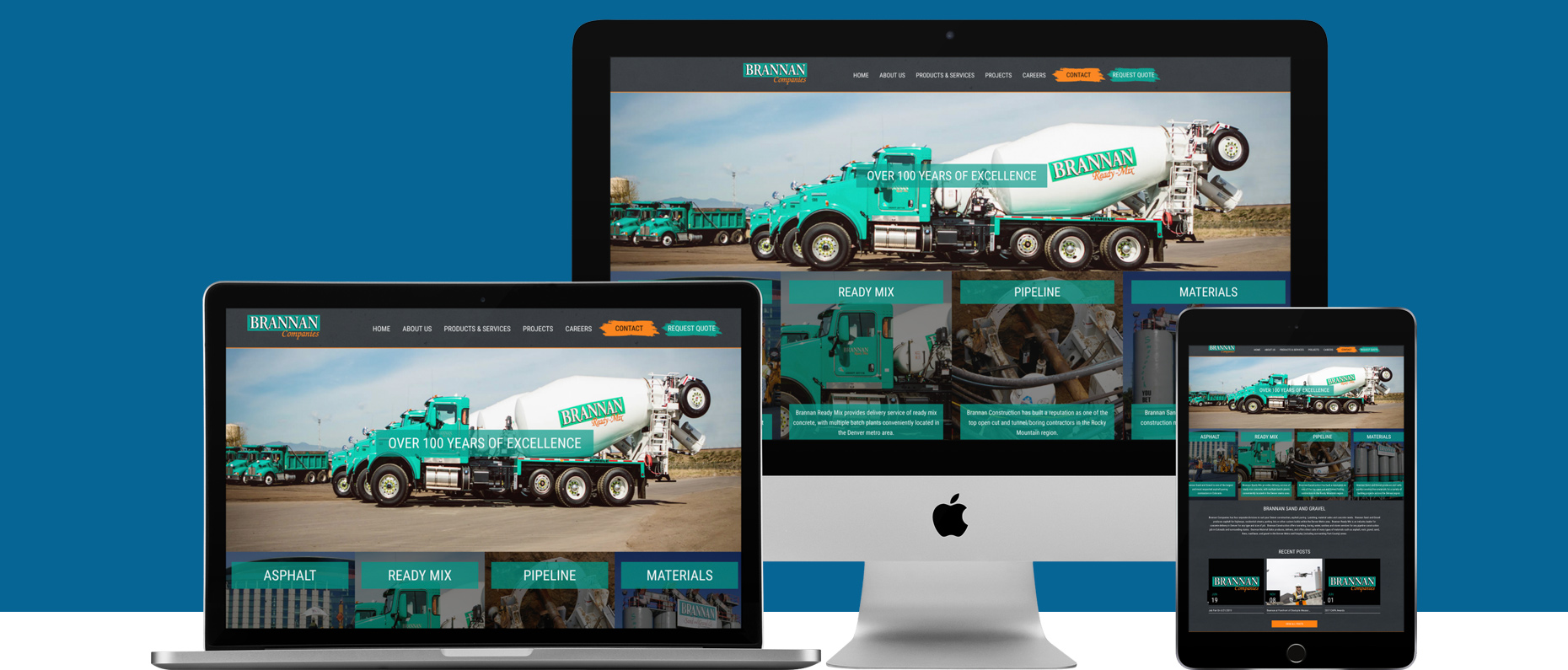 Concrete Company Website Denver, CO